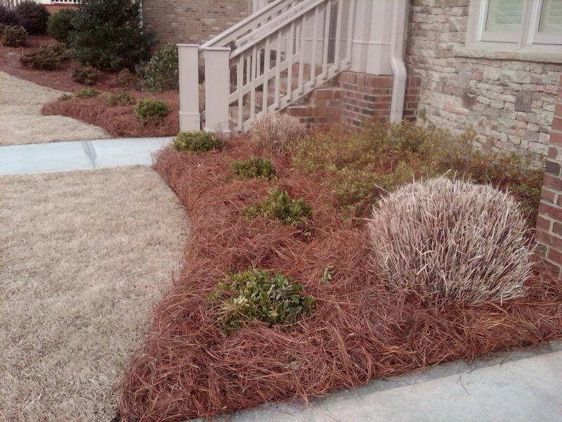 Gibbs Lawn Design Mulch