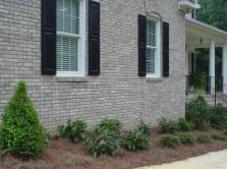 After New home Landscaping