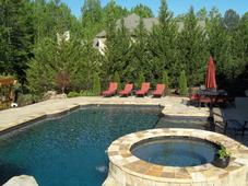 After Pool Landscaping Installation